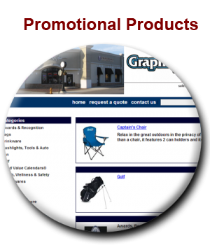 Promotional Items provided by Graphics Plus